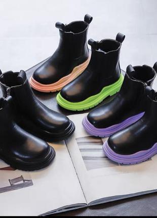 Модные ботиночки на девочек