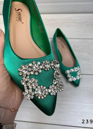 Красиві нарядні туфельки / балетки