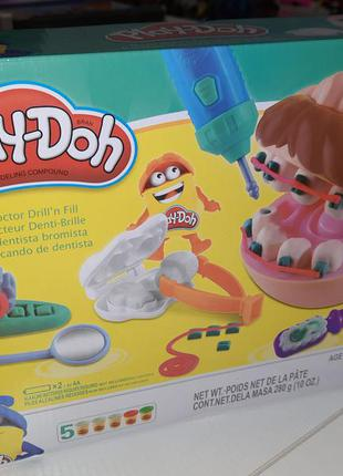 Набор для творчества стоматолог play-doh