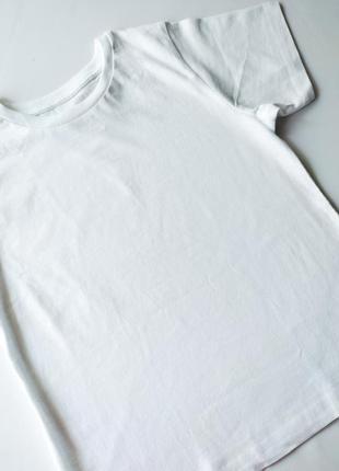 Белая базовая футболка біла базова джордж george