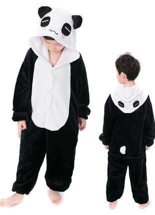 Кигуруми панда, пижама, домашний костюм р.100-175.