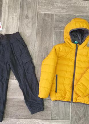 Утепленные штаны размер 110 cool club