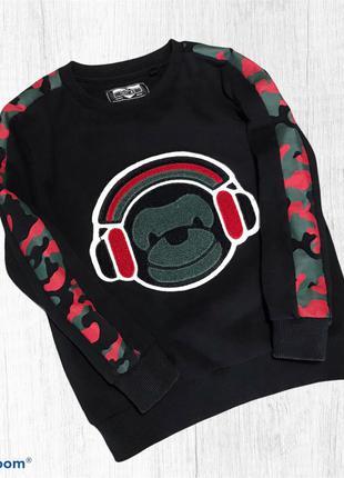 Next коллекция 2020 год свитшот с начесом свитер на байке 4-5 лет