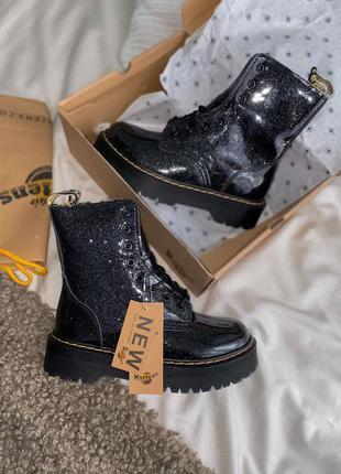 Ботинки dr. martens jadon galaxy( без меха)