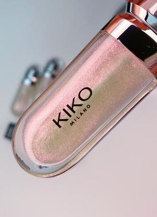 Блеск для губ kiko milano 3d hydra lipgloss. кико милано