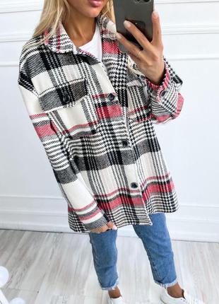 Женская рубашка кашемир шерсть
