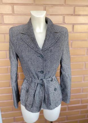 Пиджак жакет куртка шерсть