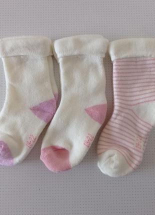 Махровые носочки для девочки lupilu р.19-22