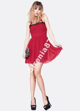 Шикарное коктейльное платье в стиле pin up от jameela jamil №105