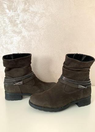 ❤️брендовые ботинки из натуральной замши