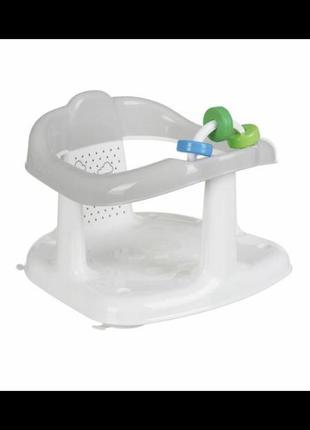 Сиденье в ванную maltex baby panda white