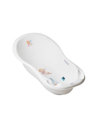 """Дитяча ванночка з градусником tega baby велика 102 см """"little princess"""" білий"""