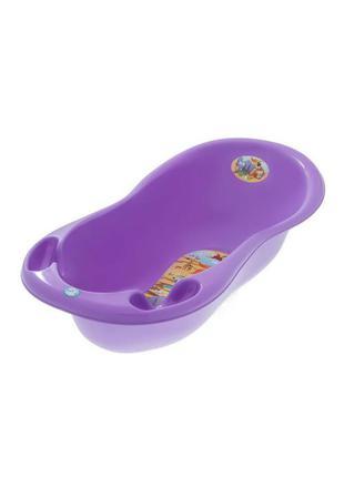 """Дитяча ванночка tega baby велика 102 см """"сафарі"""" фіолетовий"""