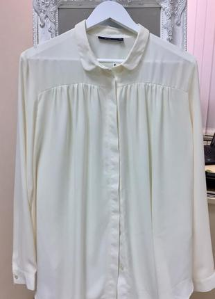 Блуза/ айвори/ нарядная/ kiabi woman/ l/xl
