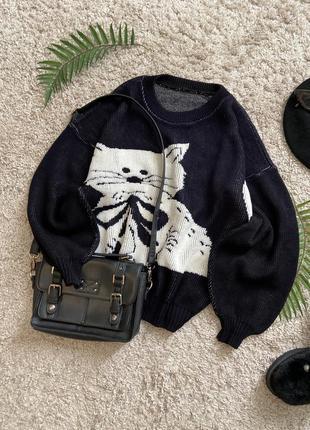 Распродажа!!! актуальный свитер с объемными рукавами №63