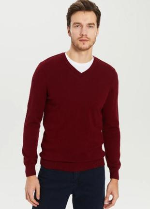 Кашемировый свитер пуловер 100% кашемир.