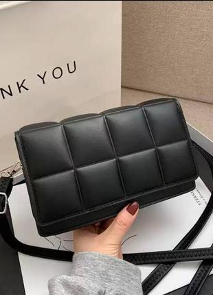 Сумка для женщин/ маленькая черная сумочка/ клатч