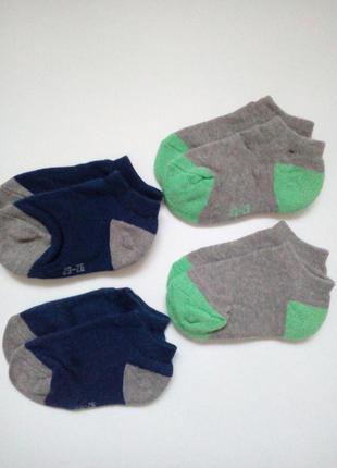Детские короткие носочки на махре kuniboo р.19-22