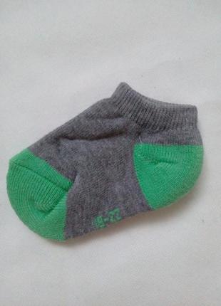 Детские короткие носочки на махре kuniboo р.23-26