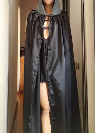 Карнавальный костюм мантия накидка плащ с капюшоном