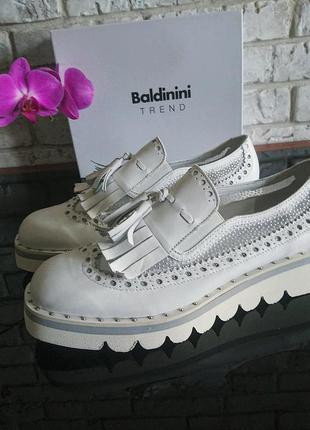 Premium туфли лоферы 40-41р. baldinini оригинал