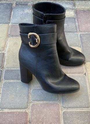 Asos ботинки осенние демисезонные на каблуке