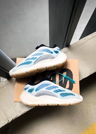 Adidas yeezy 700 v3 kyanite кроссовки адидас изи буст наложенный платёж купить