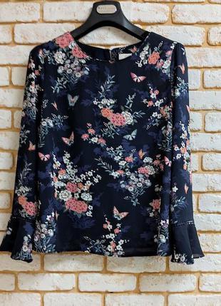 Шифоновая блуза, блузка