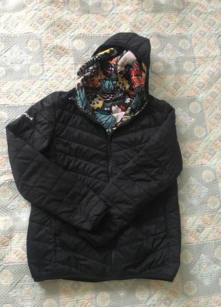 Куртка курточка desigual двусторонняя