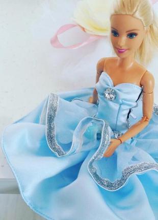 Платье для куклы барби barbie одежда наряд