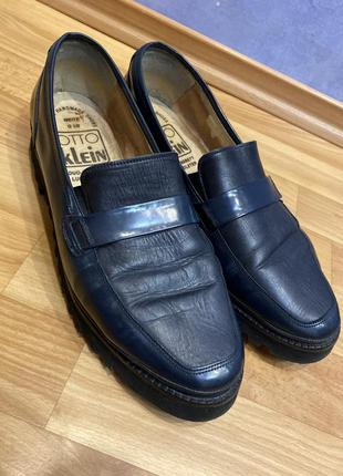 Очень стильные туфли кожа
