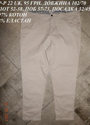 Завужені джинси великого розміру