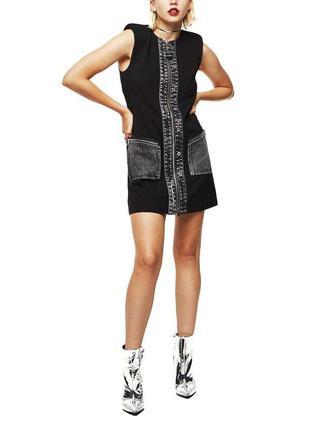 Женское мини платье d-skusa abito  итальянского бренда diesel европа оригинал италия