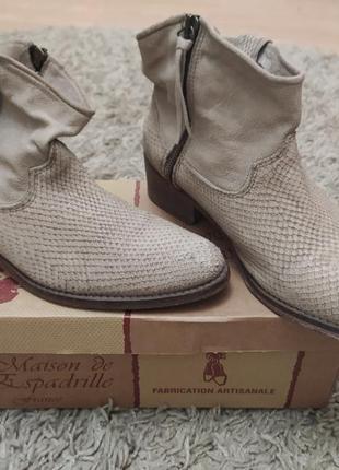 Стильные моднячие ботинки  –кежуал легендарного итальянского бренда vero cuoio
