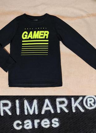 Реглан gamer на 5-6лет от primark