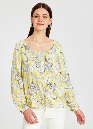 Блуза кофточка с цветочным принтом lc waikiki