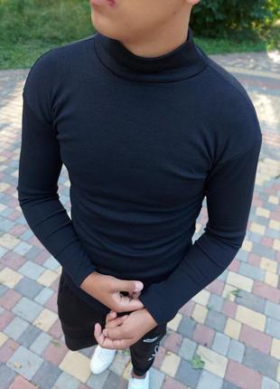 Гольф водолазка утепленная мужская