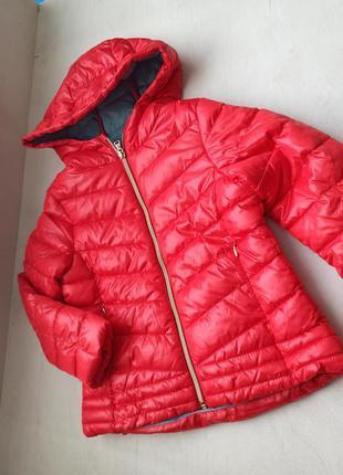 Тепла осіння куртка на дівчинку на зріст 116 см.