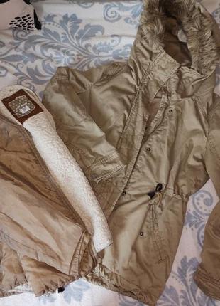 Куртка парка, трансформер