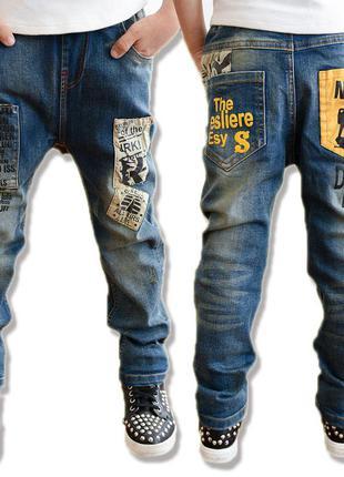 Крутые  джинсы для мальчика подростка. турция 12 -14 лет. новые