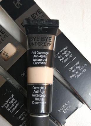 Консилер под глаза it cosmetics bye bye under eye concealer (12ml)