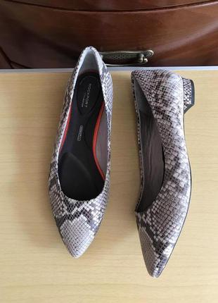 🍏 39 🍏 кожаные туфли rockport, новые, оригинал