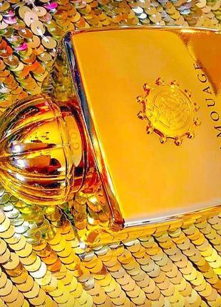 Нишевые духи🌕amouage gold woman 50/100мл edp оригинал парфюмированная вода духи тестер