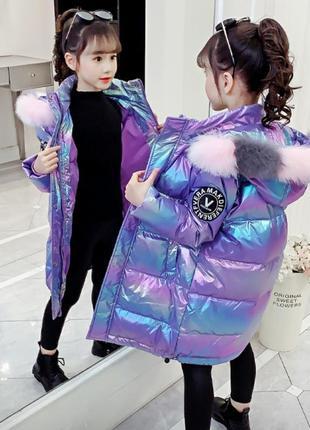 Куртка,парка, пуховик на дівчинку