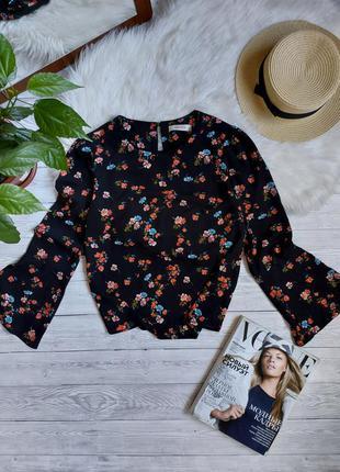 Блуза в цветочек блузка в цветы oasis кофточка легкая