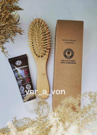 Мини набор для волос расческа и универсальный уход