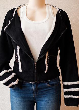 Куртка замшевая, демисезонная (дубленка)