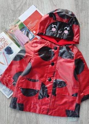 Курточка, ветровка, дождевик на 12м, 24м