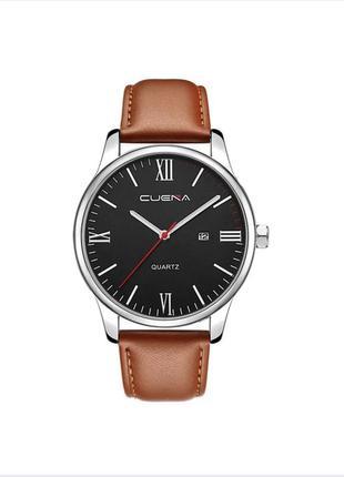 Коричневые мужские часы cuena