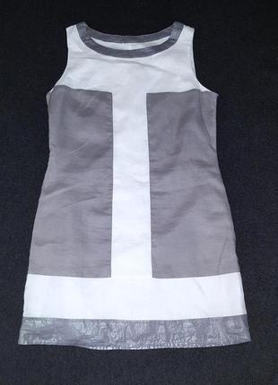Льненое платье лен коттон